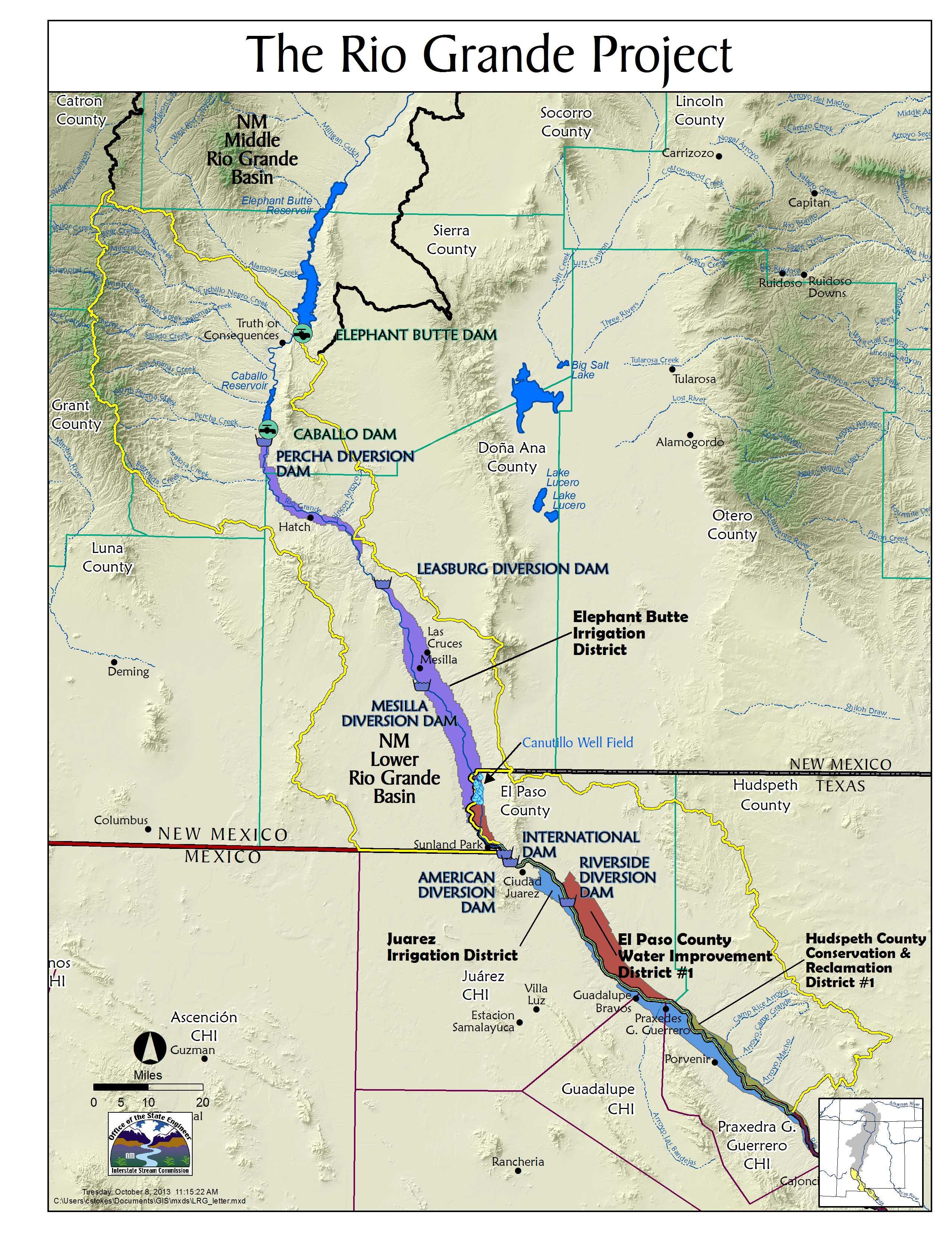 LRGletterjpg - Us map rio grande
