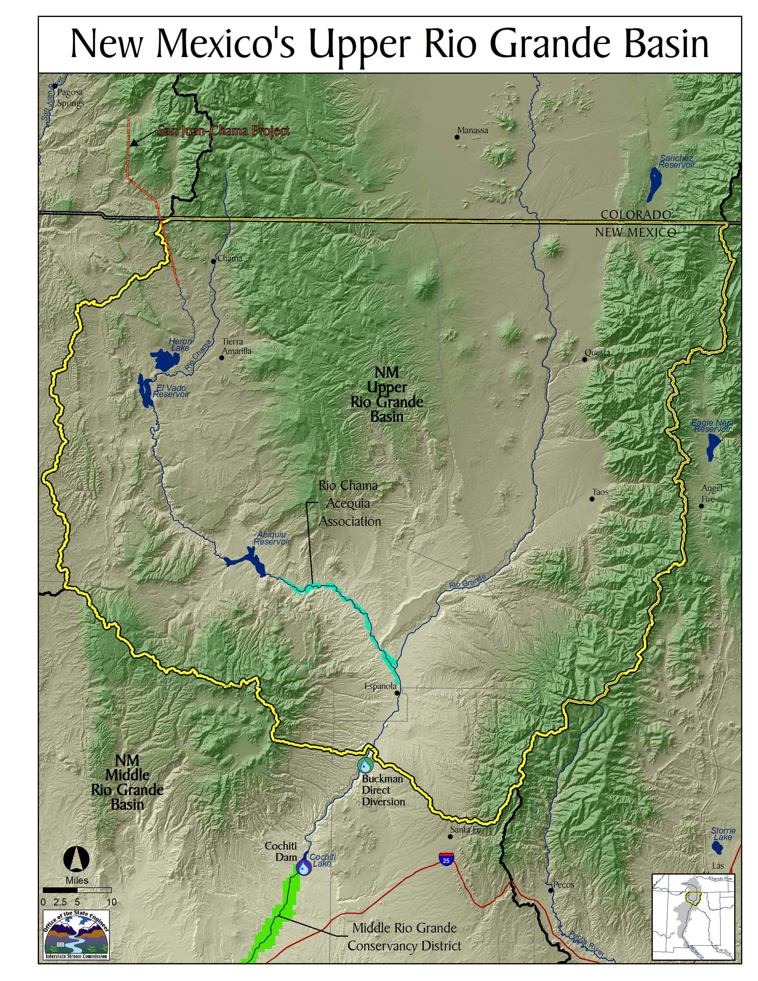 Upper Rio Grande River Basin Compacts NM Interstate Stream