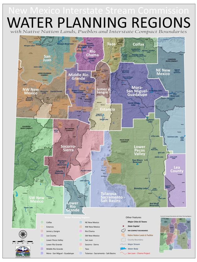 new mexico state and regional water planning