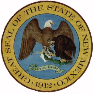 Great Seal Of The State Of New Mexico * 1912